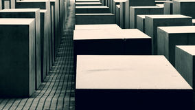 Κύβοι σε σκούρο πράσινο Στοκ φωτογραφίες με δικαίωμα ελεύθερης χρήσης