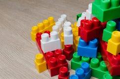 Κύβοι του σχεδιαστή παιδιών ` s Στοκ Εικόνα