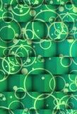 Κύβοι των σκιών στους κύκλους Στοκ Εικόνες
