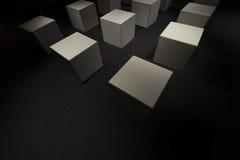 κύβοι Στοκ φωτογραφίες με δικαίωμα ελεύθερης χρήσης