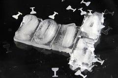 κύβος πάγου του 2015 Στοκ Εικόνες