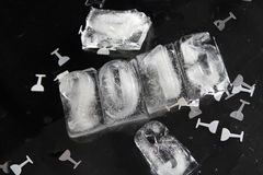 κύβος πάγου του 2015 Στοκ Φωτογραφίες