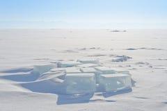 Κύβος πάγου Στοκ φωτογραφίες με δικαίωμα ελεύθερης χρήσης