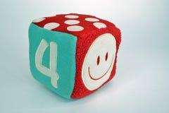 Κύβος παιχνιδιών Στοκ Φωτογραφία