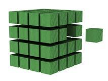 κύβος 2 διανυσματική απεικόνιση