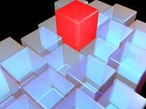 κύβος Στοκ φωτογραφία με δικαίωμα ελεύθερης χρήσης