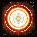 Κύβος Metatron ` s Διανυσματική απεικόνιση