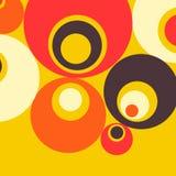 κύκλοι ανασκόπησης Στοκ Εικόνα