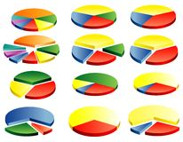κύκλοι δωδεκάδα ελεύθερη απεικόνιση δικαιώματος