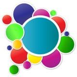 κύκλοι ζωηρόχρωμοι Στοκ εικόνα με δικαίωμα ελεύθερης χρήσης
