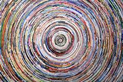 κύκλοι ζωηρόχρωμοι Στοκ Εικόνα