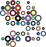κύκλοι ζωηρόχρωμοι Στοκ φωτογραφία με δικαίωμα ελεύθερης χρήσης