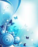 κύκλοι πεταλούδων ελεύθερη απεικόνιση δικαιώματος