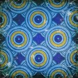 Κύκλοι στον τοίχο Στοκ Εικόνες