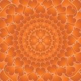 Κύκλοι των καρδιών Στοκ Εικόνα