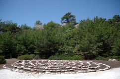Κύκλοι των πετρών στοκ φωτογραφία