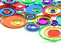 κύκλοι Στοκ εικόνες με δικαίωμα ελεύθερης χρήσης
