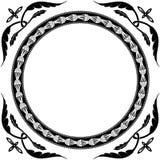 κύκλος διακοσμήσεων Στοκ εικόνα με δικαίωμα ελεύθερης χρήσης