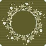 κύκλος λουλουδιών Ελεύθερη απεικόνιση δικαιώματος