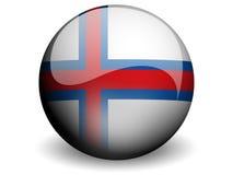 κύκλος σημαιών των Νήσων Φ&epsilon Στοκ φωτογραφία με δικαίωμα ελεύθερης χρήσης