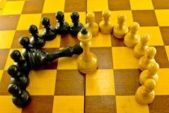 κύκλος σκακιού Στοκ εικόνες με δικαίωμα ελεύθερης χρήσης