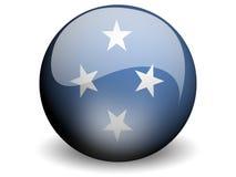 κύκλος της Μικρονησίας σημαιών Στοκ Φωτογραφίες
