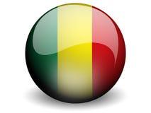 κύκλος του Μαλί σημαιών Στοκ εικόνα με δικαίωμα ελεύθερης χρήσης