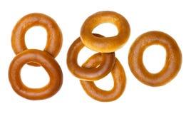 Κύκλος του ψωμιού που απομονώνεται Στοκ φωτογραφία με δικαίωμα ελεύθερης χρήσης