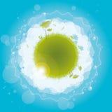 κύκλος φύσης σχεδίου απεικόνιση αποθεμάτων