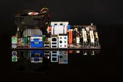 Κύκλωμα υπολογιστών Στοκ φωτογραφία με δικαίωμα ελεύθερης χρήσης