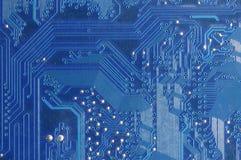 κύκλωμα χαρτονιών ηλεκτρ&o Στοκ Εικόνες