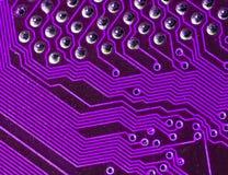 κύκλωμα χαρτονιών ηλεκτρ&o Στοκ Φωτογραφία