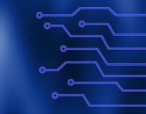 κύκλωμα χαρτονιών ηλεκτρ&o απεικόνιση αποθεμάτων