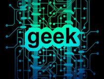 κύκλωμα χαρτονιών geek Στοκ Φωτογραφία