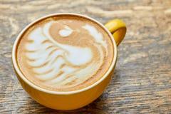 Κύκνος τέχνης Latte Στοκ Φωτογραφία