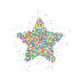 Κύκλοι εικονιδίων αστεριών Στοκ Εικόνες