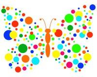 Κύκλοι πεταλούδων Στοκ εικόνα με δικαίωμα ελεύθερης χρήσης