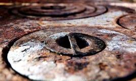 Κύκλοι σκουριάς Στοκ Φωτογραφίες