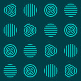 Κύκλοι, ύπνωση Στοκ εικόνες με δικαίωμα ελεύθερης χρήσης