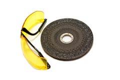 Κύκλος και γυαλιά Στοκ εικόνα με δικαίωμα ελεύθερης χρήσης