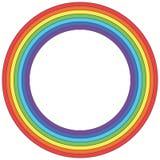 Κύκλος ουράνιων τόξων - διανυσματικό στοιχείο Στοκ φωτογραφίες με δικαίωμα ελεύθερης χρήσης