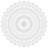κύκλος προτύπων διακοσμήσεων mandala απεικόνισης Κυκλικό περίπλοκο σχέδιο Πρότυπο σχεδίου κύκλων δαντελλών Αφηρημένο γεωμετρικό μ Στοκ εικόνες με δικαίωμα ελεύθερης χρήσης