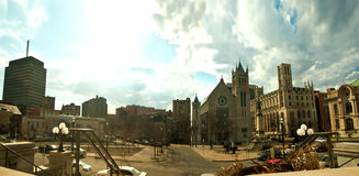 Κύκλος του Columbus, Συρακούσες, Νέα Υόρκη Στοκ φωτογραφία με δικαίωμα ελεύθερης χρήσης