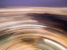 Κύκλος 01 φω'των Abstrac Στοκ Εικόνες