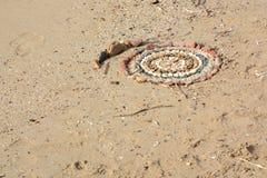 Κύκλος χαλικιών Στοκ εικόνες με δικαίωμα ελεύθερης χρήσης