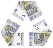 Κύκλος χρημάτων Στοκ Εικόνα