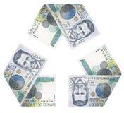 Κύκλος χρημάτων Στοκ εικόνα με δικαίωμα ελεύθερης χρήσης