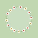 Κύκλος Fowers Στοκ φωτογραφία με δικαίωμα ελεύθερης χρήσης