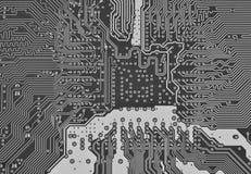 κύκλωμα χαρτονιών ηλεκτρονικό Στοκ εικόνα με δικαίωμα ελεύθερης χρήσης