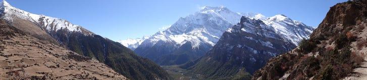 Κύκλωμα Annapurna, Ιμαλάια, Νεπάλ Στοκ Εικόνες
